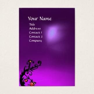 MAGIC BERRIES 2 MONOGRAM ametist purple Business Card