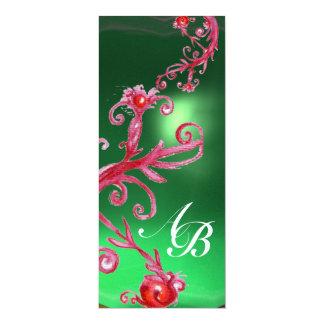 MAGIC BERRIES 4,MONOGRAM red jade ice Card