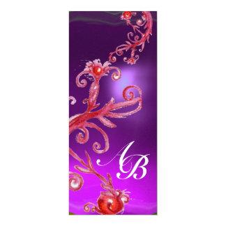 MAGIC BERRIES 4,MONOGRAM red purple ice Card