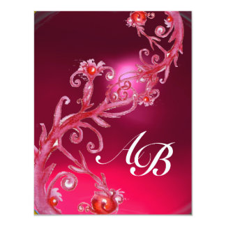 MAGIC BERRIES 4,MONOGRAM red ruby Card