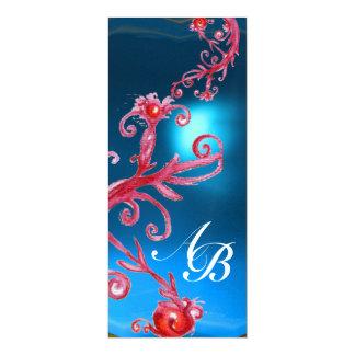 MAGIC BERRIES 4,MONOGRAM red sapphire ice Card