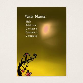 MAGIC BERRIES YELLOW TOPAZ GEM MONOGRAM BUSINESS CARD