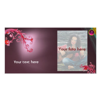 MAGIC BERRY gem pink Picture Card