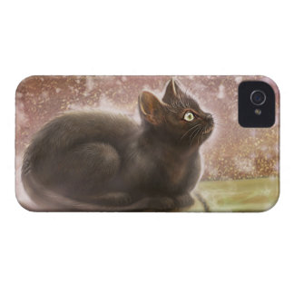 Magic Black Cat Blackberry Bold Case