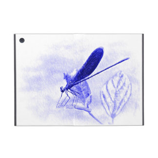 Magic Blue Dragonfly iPad Mini Case