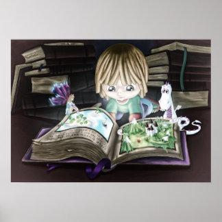 Magic Book Poster