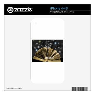 Magic Book Skin For iPhone 4S