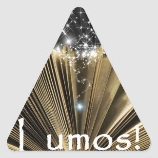 Magic Book Triangle Sticker