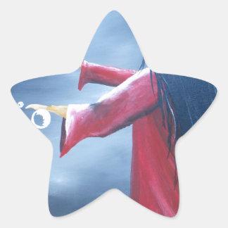 Magic Bubbles Star Sticker