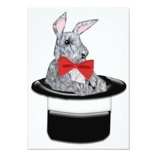 Magic Bunny 5x7 Paper Invitation Card