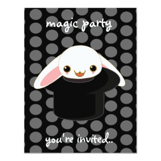 magic bunny card