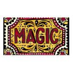 Magic Business Card Templates