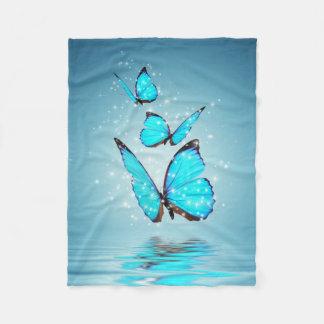 Magic Butterflies Fleece Blanket