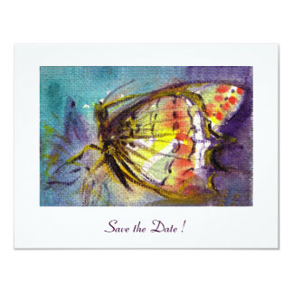 MAGIC BUTTERFLY 4.25X5.5 PAPER INVITATION CARD