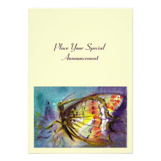 MAGIC BUTTERFLY PERSONALIZED INVITATION