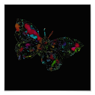 Magic Butterfly ~ Poster / Print
