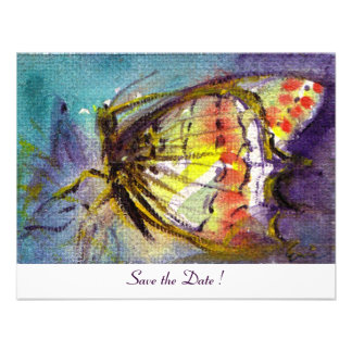 MAGIC BUTTERFLY white Personalized Announcement