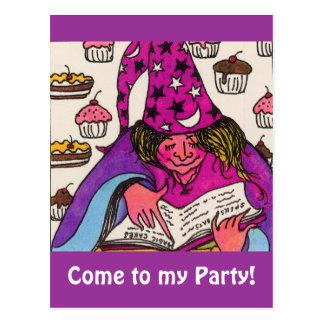 Magic Cakes Postcard