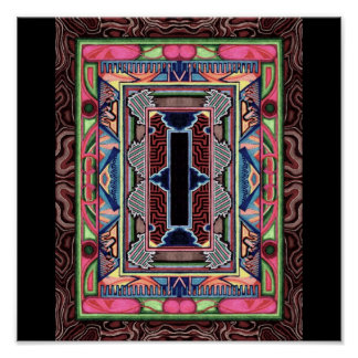 Magic Carpet Frame Poster