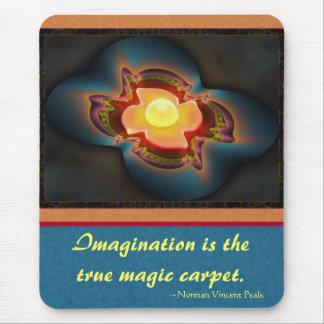 Magic Carpet Ride Abstract Art Mouse Pad