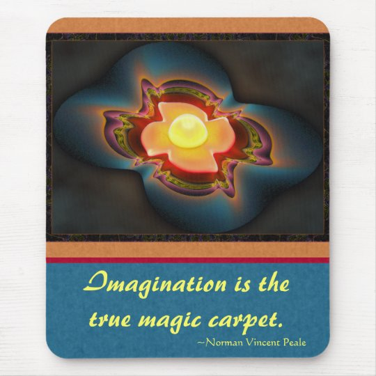 Magic Carpet Ride Abstract Art Mouse Pad