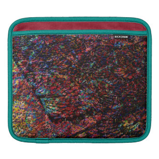 Magic Carpet Ride Abstract Floral Digital Painting iPad Sleeves
