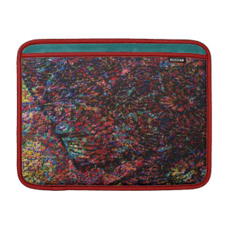 Magic Carpet Ride Abstract Floral Digital Painting Sleeve For MacBook Air