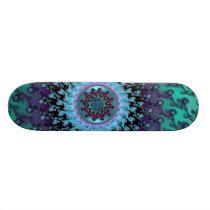 Magic Carpet Ride Celtic Mandala Magic Skateboard