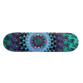 Magic Carpet Ride Celtic Mandala Magic Skateboard