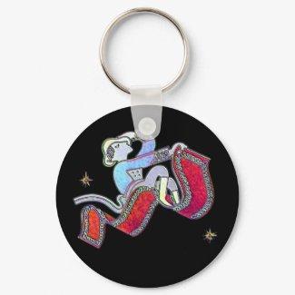 Magic Carpet Ride keychain