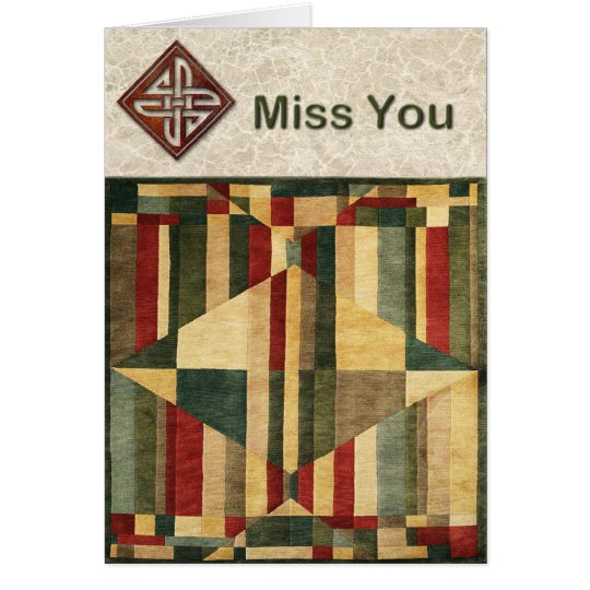 Magic Carpet Ride Miss You Card