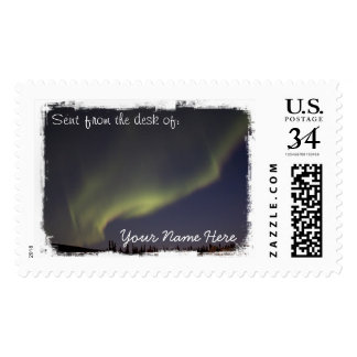 Magic Carpet Ride Postage Stamp