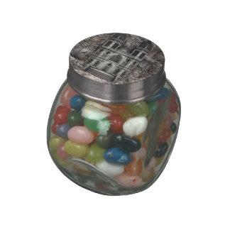Magic Castle Glass Candy Jar