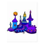 Magic Castle - Secret Mistery Fantasy Enchanted Postcards