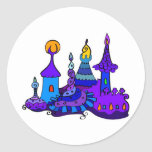 Magic Castle - Secret Mistery Fantasy Enchanted Round Stickers