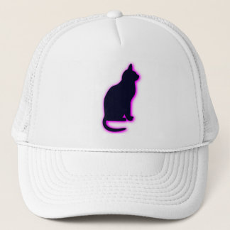 magic cat trucker hat