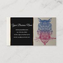 Magic Celtic owl