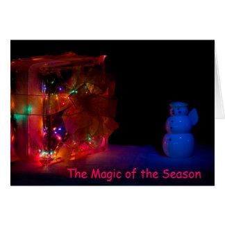Magic Christmas Season Card