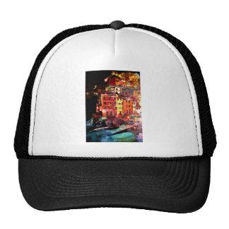 Magic Cinque Terre Night in Riomaggiore Trucker Hat