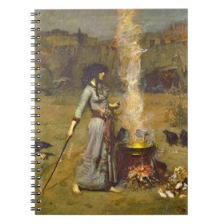 Magic Circle 1886 Spiral Notebook