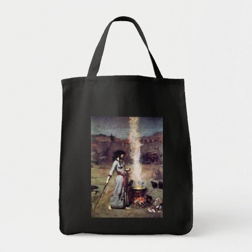 Magic Circle 1886 Waterhouse Canvas Bag