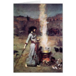 Magic Circle 1886 Waterhouse Card
