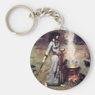 Magic Circle 1886 Waterhouse Keychain