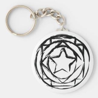 Magic Circle Basic Round Button Keychain
