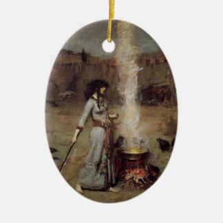 Magic Circle Ceramic Ornament