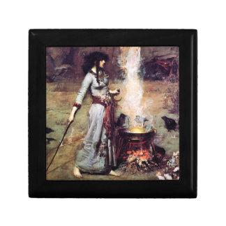 Magic Circle Pre-Raphaelite Lacquered Box Trinket Box