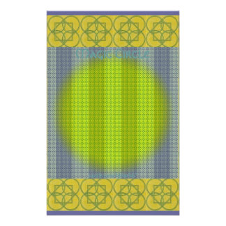 Magic Circle Tapestry Stationery