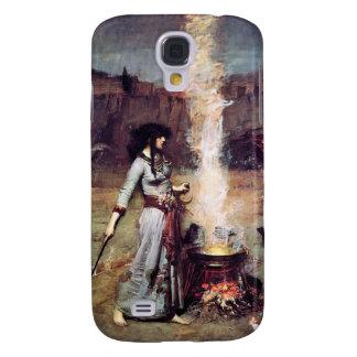 Magic Circle Vintage Pre-Raphaelite  Galaxy S4 Cases