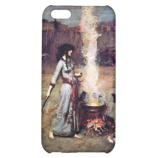 Magic Circle Vintage Waterhouse Pre-Raphaelite Case For iPhone 5C