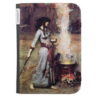 Magic Circle Waterhous Pre-Raphaelite Kindle Cover